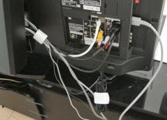 テレビ配線修理のイメージ